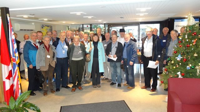 TARA Members gather in lobby for Tours