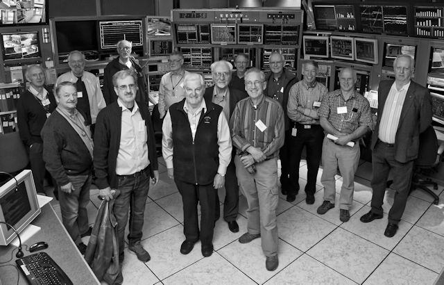 B&W photo in 2014 of those in 1974