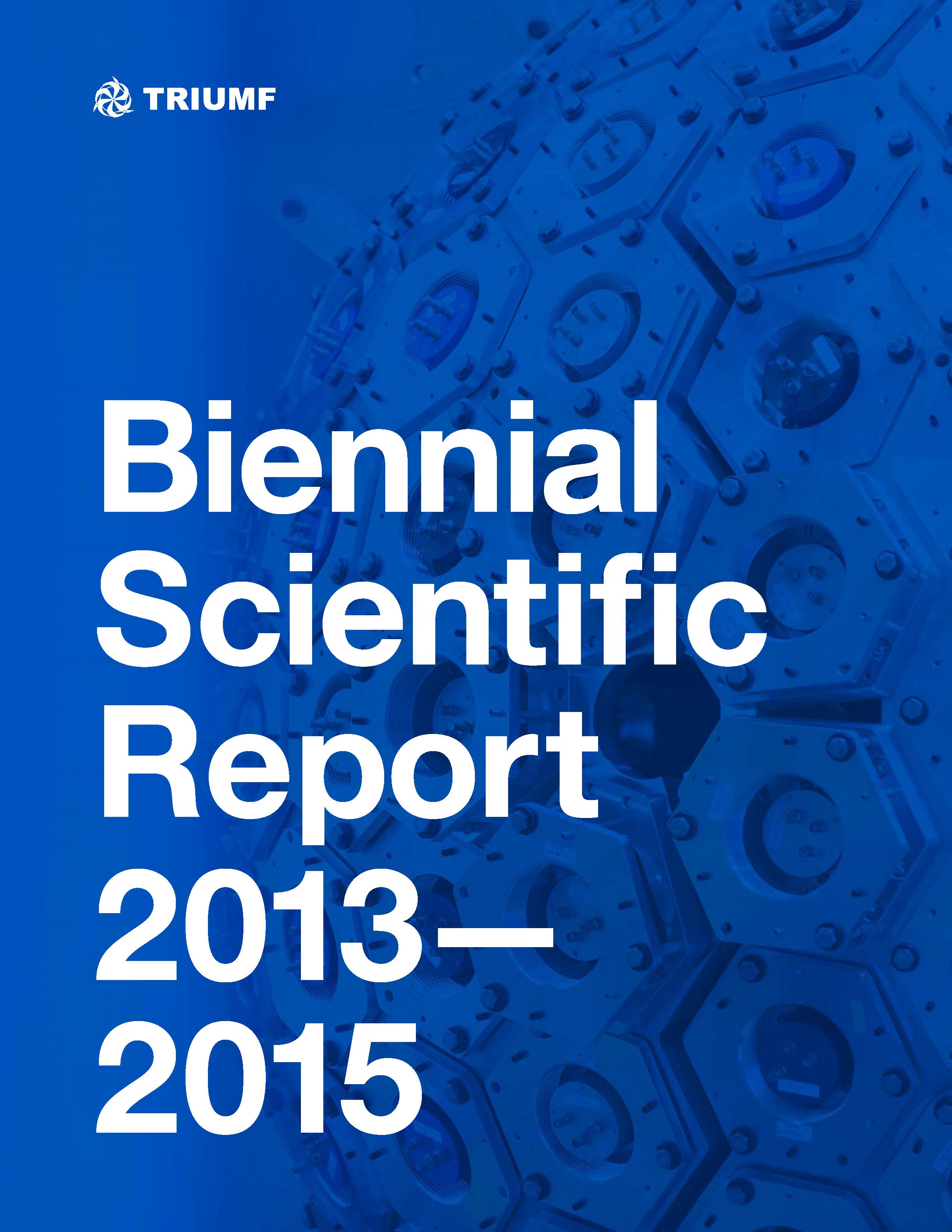 2013-2015 Scientific Activities Report