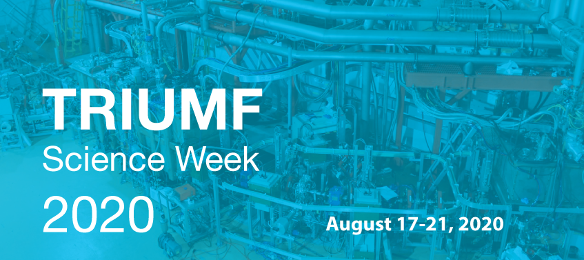 TRIUMF Science Week 2020 header