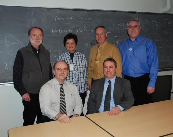 Director of TRIUMF, Nigel Lockyer and CNSC Audit Group