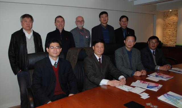 Chinese Delegation of Hospital Executives