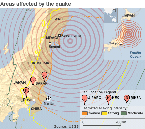 world map japan earthquake. Japan+earthquake+2011+map