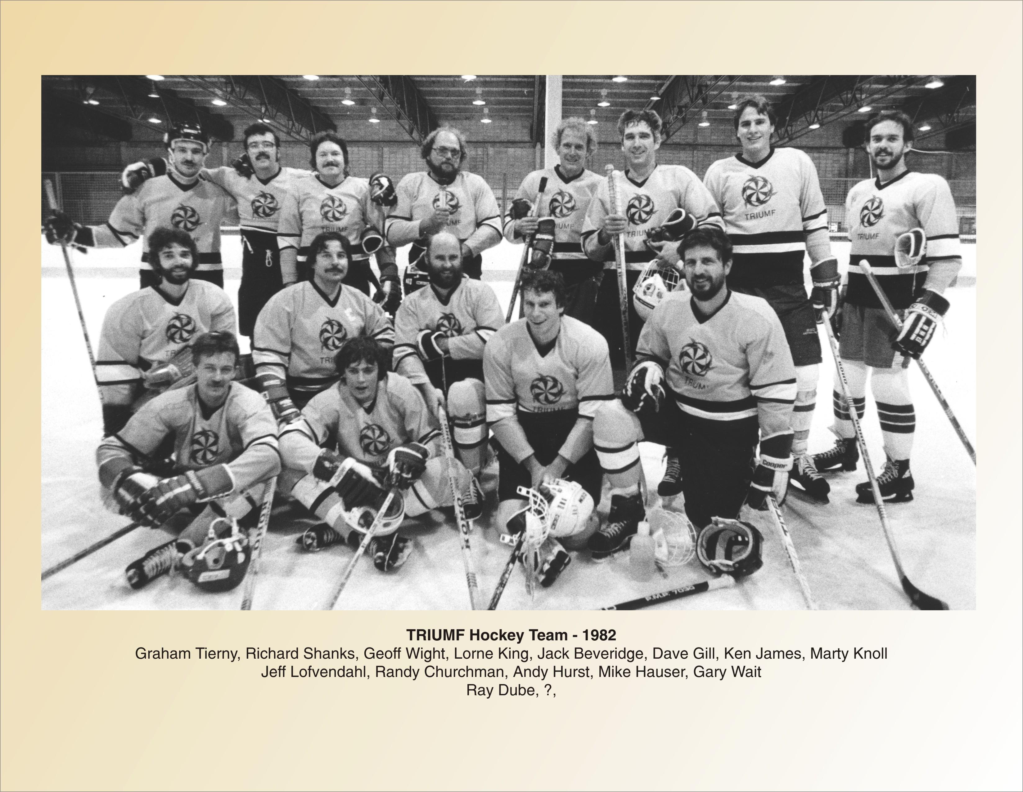 7 Hockey Team 1982