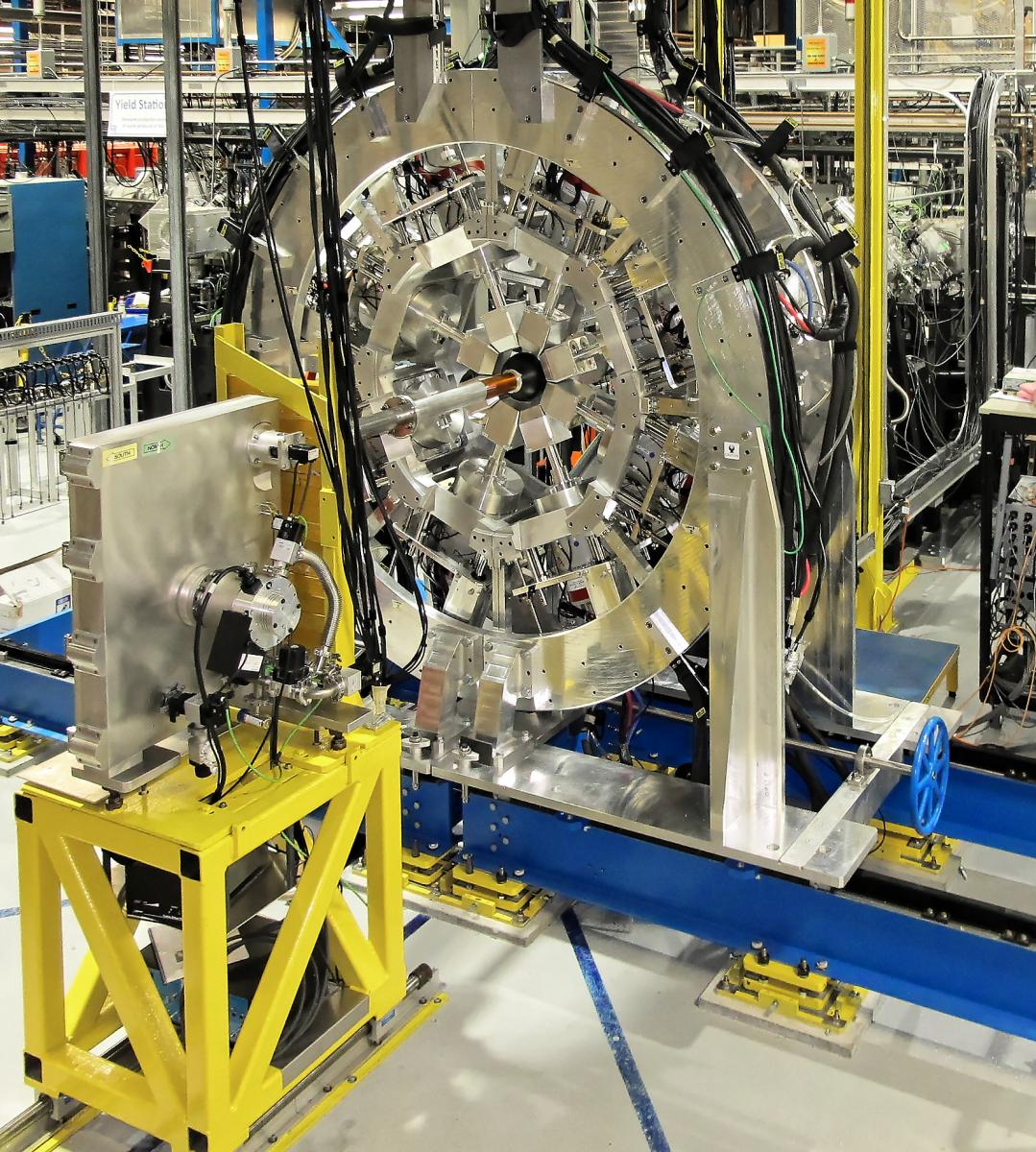 Photograph of the GRIFFIN detector based at TRIUMF