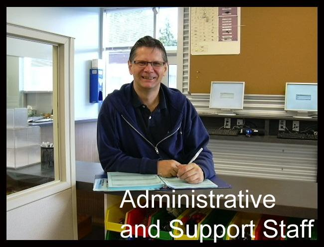 Admin and Support Staff