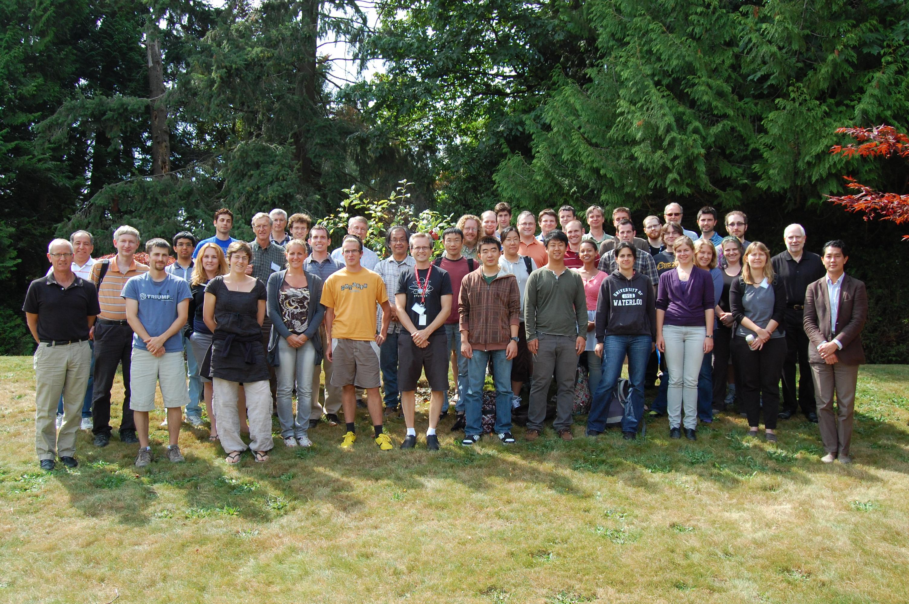 Twentieth international summer school on vacuum electron and ion - Triumf Held Its Annual Summer Institute From August 7 17 2012