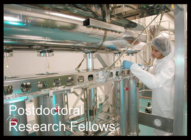Postdoctoral Research Fellows