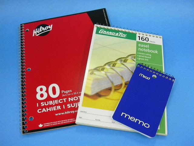 Coil note pads