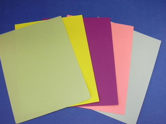 Colour reem paper
