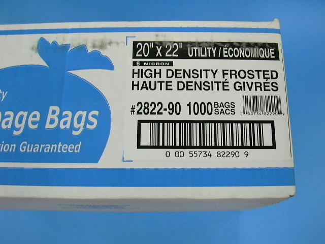 Garbage bags - Small