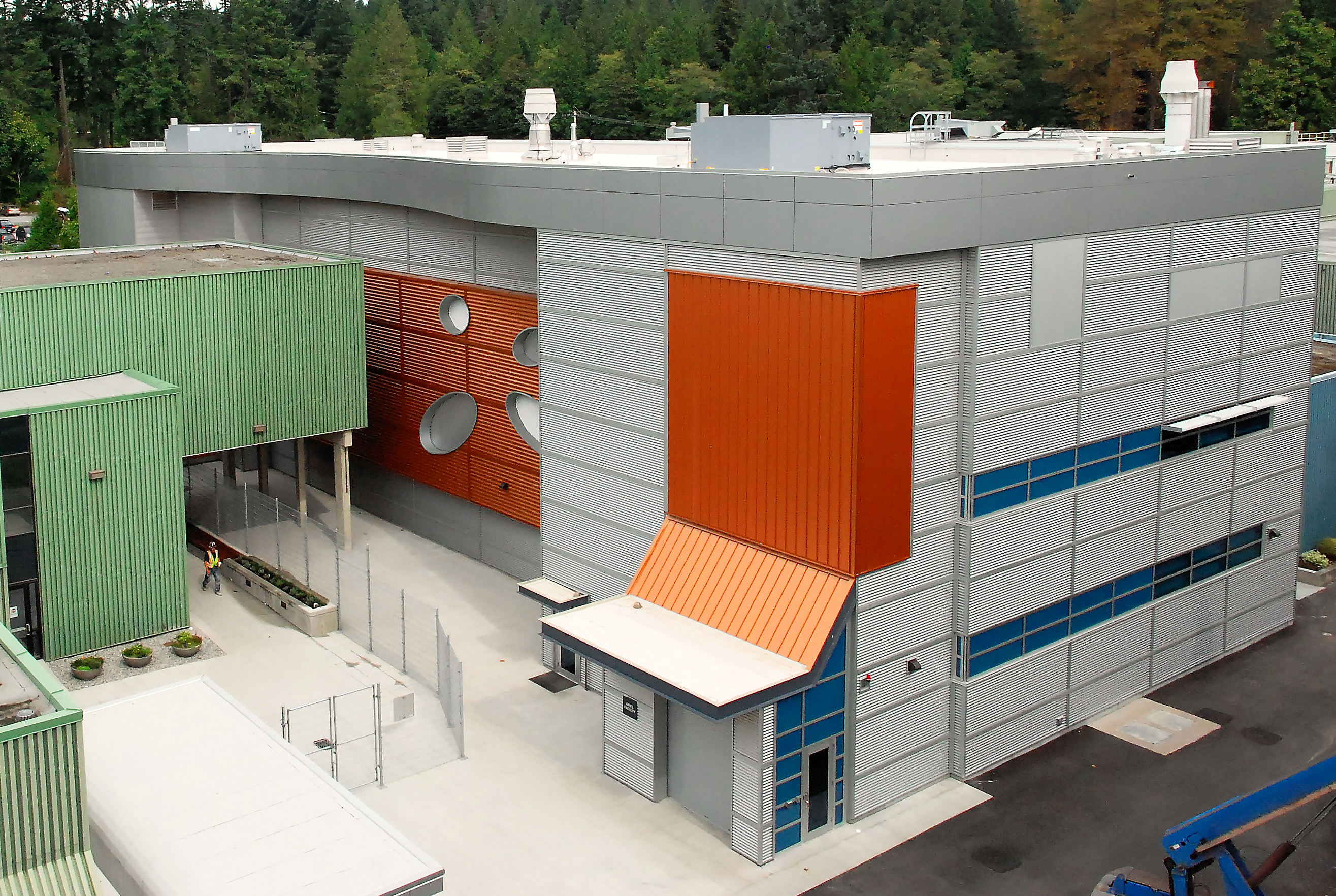 The newly constructed Advanced Rare Isotope Laboratory at TRIUMF.