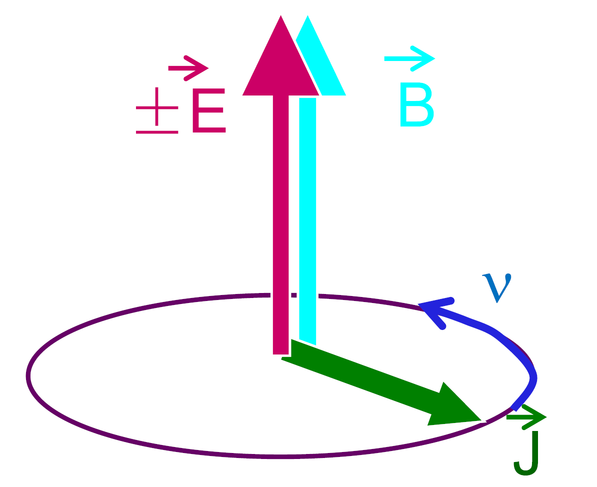 Precession of the neutron spin